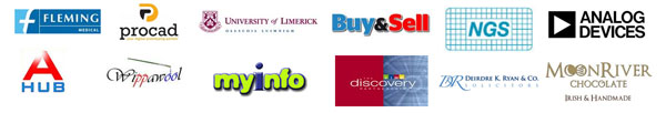 SEO Ireland Clients - Sample of clients past and present