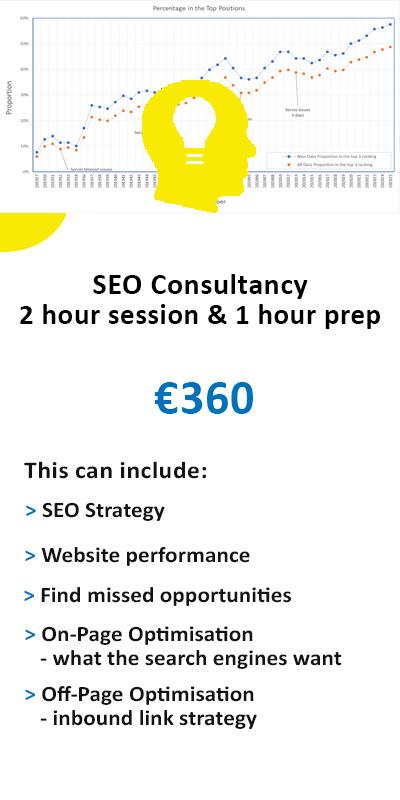 SEO Consultancy online Ireland