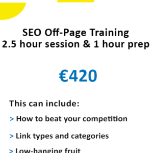 Link Building Training Course - Off-Page SEO