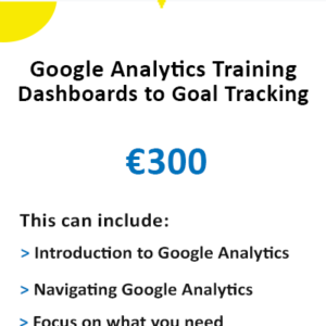 Google Analytics Training - Ireland