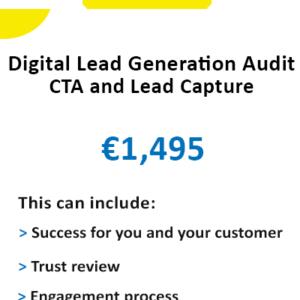 digital lead generation audit