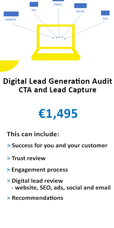 digital lead generation audit