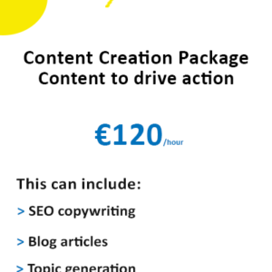 Content writing package Ireland